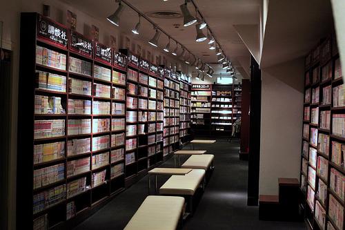 Row of Manga