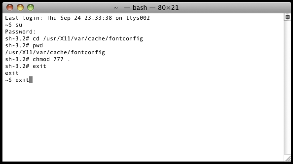 What your Terminal will look like; exciting, what not?